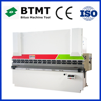 New design WC67Y Series electro hydraulic synchronous cnc press brake with high quality