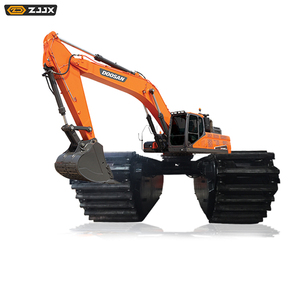chinese amphibious caterpillar excavator hire prices