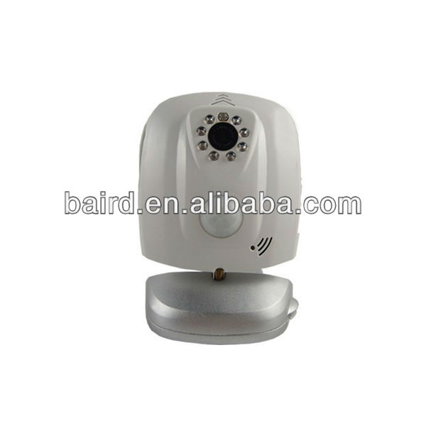 wireless cmos 3G remote alarm camera WCDMA network & send alarm messages by SMS/ video call/voice call