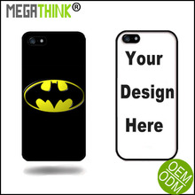Batman Back Print cover for iPhone 6 6s transparent case customized