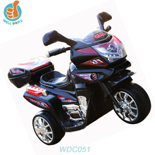 WDC051 High Quality Electric Toy Car 3 Wheel Car Battery Operated Motorcycle Kids Plastic Ride On Car Toy Japanese Used Toy