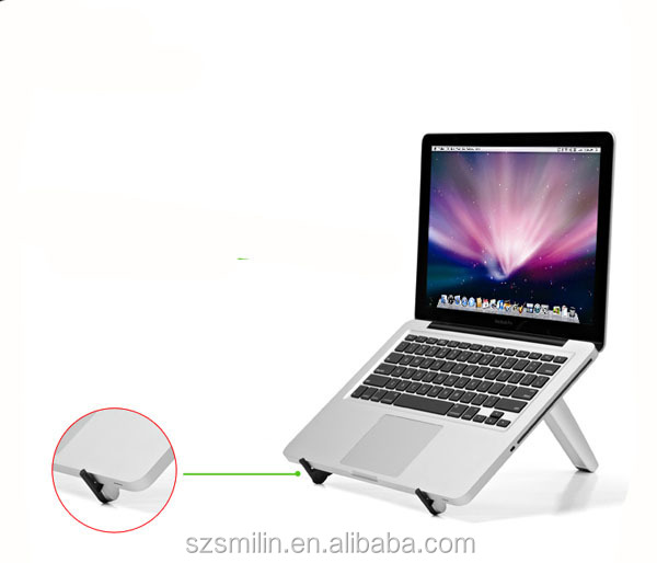 2014 New Aluminum Portable Laptop Tablet PC Phone Home Office Outdoor Desk Bed Stand Holder