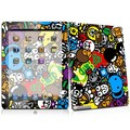 Cartoon Mix design decal for iPad 2 Color Skin Sticker wholesales
