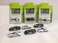 Didecast Police Mini Model Cars Toy