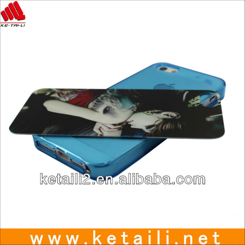 New design girl cover lagging skin case for iphone 5(FDA,BV ,ISO report)