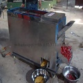 Red chilli cutting and chilli seed separator machine