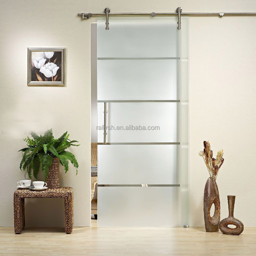 Stainless steel glass sliding door hardware system RLD-11, View ...