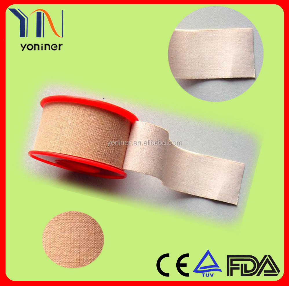 Skin color zinc oxide surgical adhesive plaster/zinc oxide medical tape