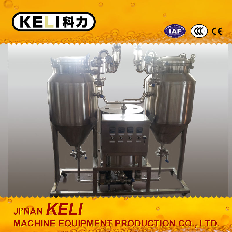 50 L 100L micro Home Beer make machine laboratory brew beer equipment / small beer produce machine