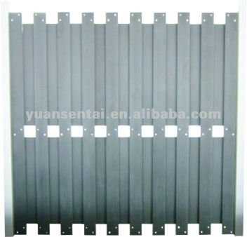 Recycled Plastic Fence Boards With FSC ,CE ,SGS