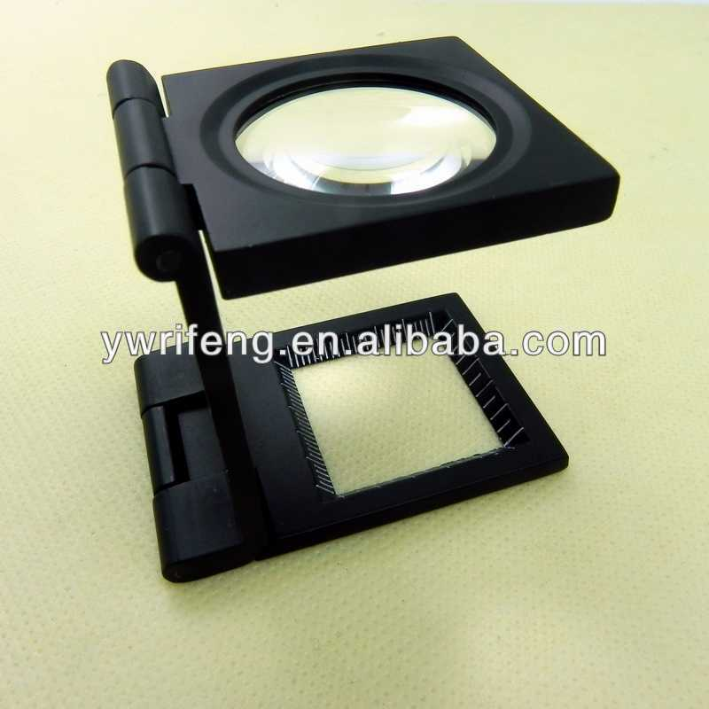 good price high power magnifier jewelers loop with light