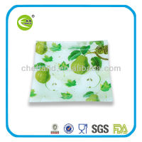 square heat resistant glass plate