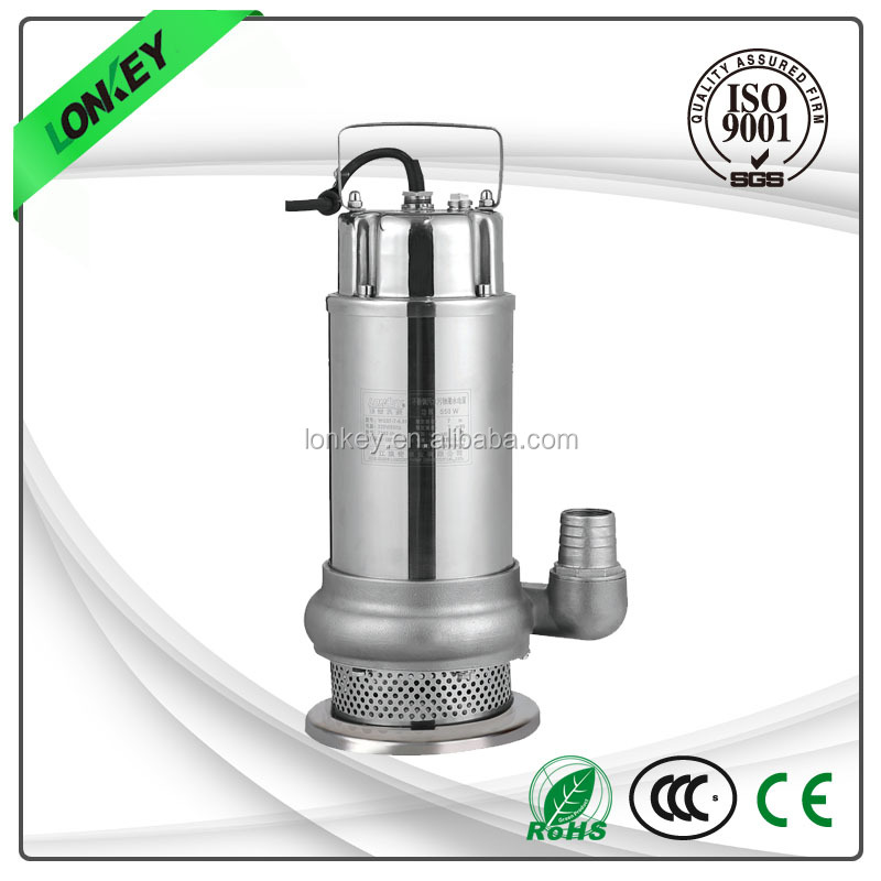 sea water submersible pump, stainless steel submersible pump