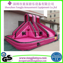 garden inflatable water games portable inflatable mini water park cheap inflatable water slides