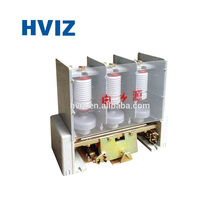 ISO9001 Medium high Voltage JCZ5 220V Coil 160A Vacuum switch 12kV AC Contactor