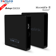 Trade assurance beelink MiniMXIII-II android tv box Amlogic S905X custom android 6.0 tv box