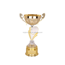 fashion gold plating metal champions league trophy