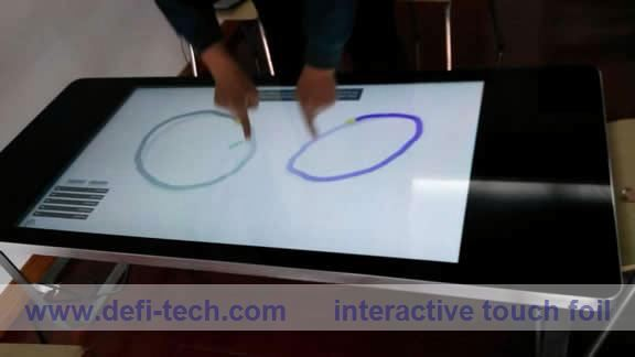DEFI Interactive Multi-touch touch foil,flexible touch foil film from $350