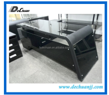 Hot sale glass furniture guangzhou modern office desk