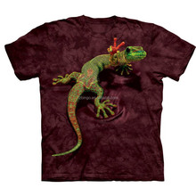 2017 trending products 3d lizard print t-shirts for men