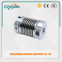 Bellow servo motor shaft Coupling bellows Clamp Metal Bellows Flexible CouplingTransmission Parts expansion coupling