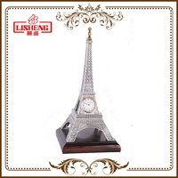 Europe tour France souvenir item Eiffel tower ornament for decoration