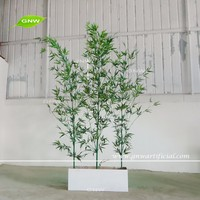 GNW BAM160928-001 New coming artificial bamboo poles green plants for sale