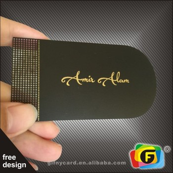 Customized Metal Business Cards/Laser Cut Metal Business Cards