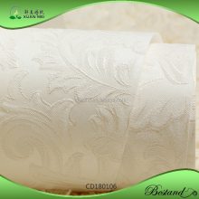 CD180106 XuanMei White Color 3D Damask Beautiful wallpaper Classic Design Wallpaper