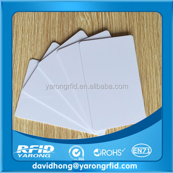 hard Plastic business cards, blank pvc card, sublimation pvc card