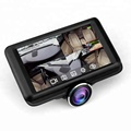 Full HD Touch Screen Dash Cam 4.5 inch touch screen dash cam 360 panoramic dual lens car dvr camcorder