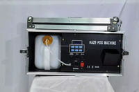 Newest high quality 2000w haze machine with dmx 512 with flightcase fog machine smoke machine