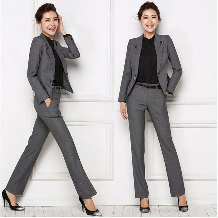 OEM China Custom Made Work Suits Women Pant Suits for Wedding