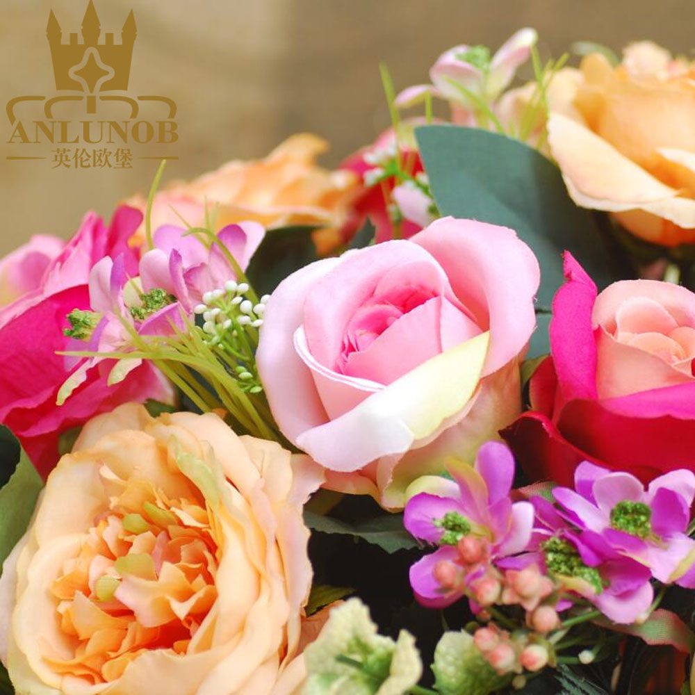 Artificial Silk Flower for Cemetery Occasions