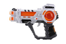 Toy gun with light and music B/O flashing space gun