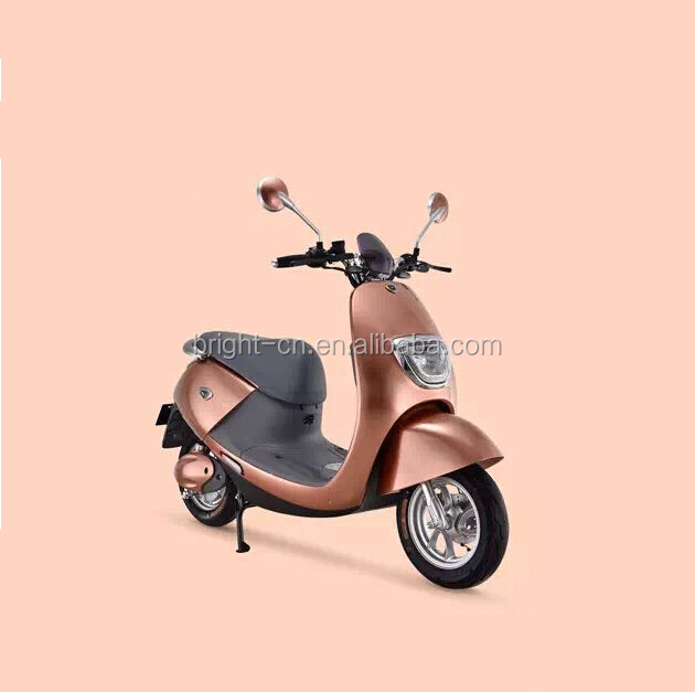 wuxi factory wholesale cheap disc brake electric motorbike/scooter/moped motorcycle