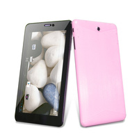312 24h SALE 3g tablet phone 7 inch MTK 6577 dual core with gps bluetooth