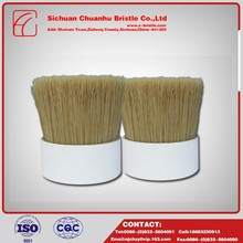 China wholesale custom pig hair door bottom brush,bristle For the production of brushes