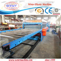 1220mm Width Celuka Three Layers PVC WPC Foam Board Machine, WPC Foam Board Extrusion Line