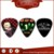 Various Kinds of Promotional High Quality Custom Guitar Picks with Band Logo