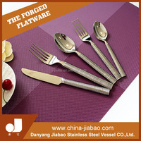 Cheap stainless steel Flatware Sets , 5pcs spoon and fork with High quality