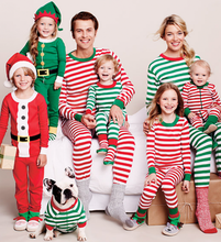 High quality custom made family kids christmas pajamas