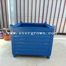 Galvanized Oem Truck Parts Foldable Steel Crate