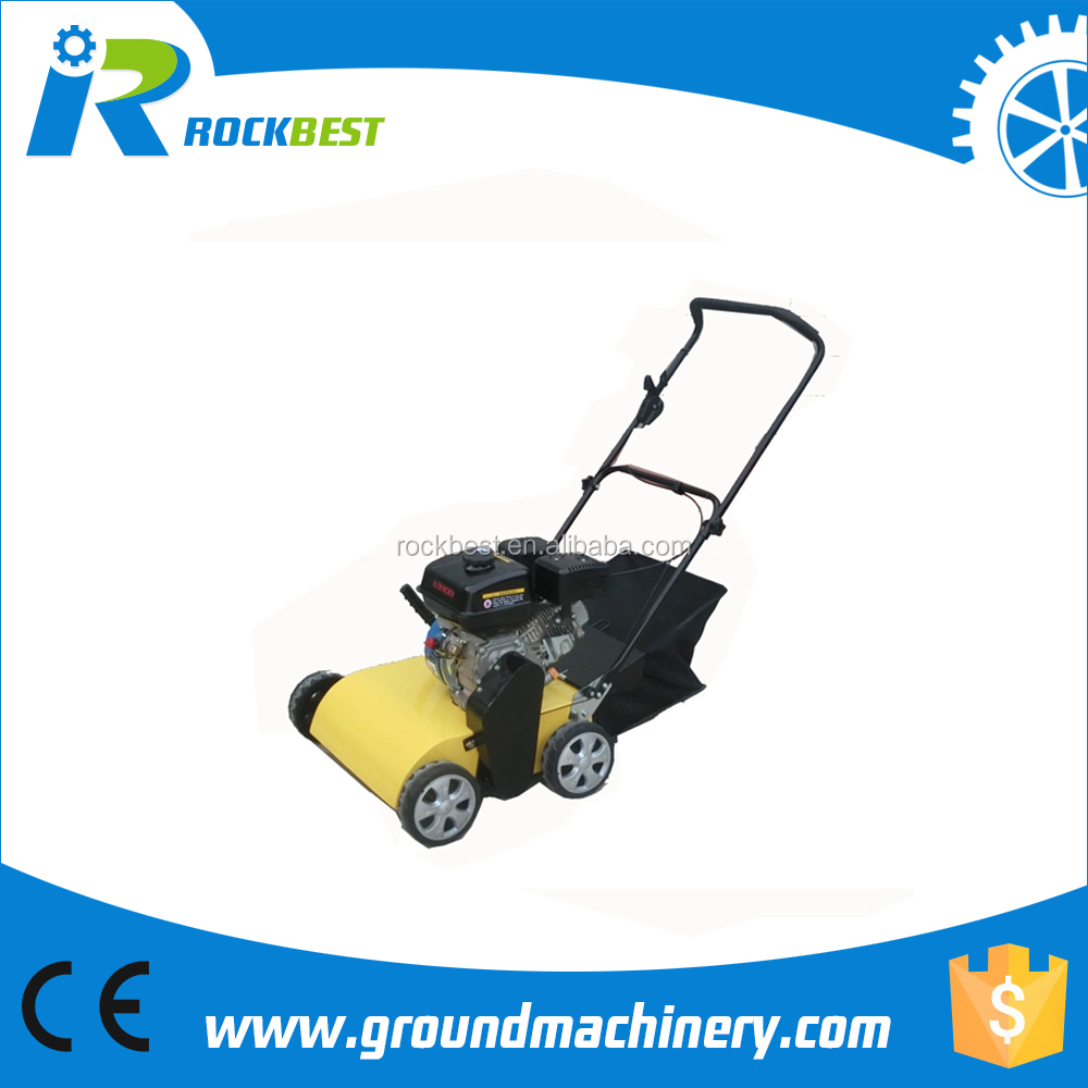 hot sell gasoline/petrol turf sweeper