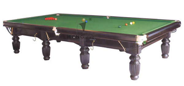 Interenational standard solid wood with slate 12 ft for 12 ft snooker table
