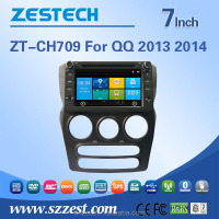 Professional car dvd supplier car gps receiver for CHERY NEW QQ 2014 car gps receiver
