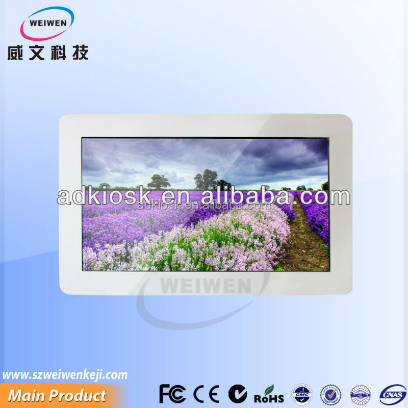 32 inch lcd screen hd media player porn internet smart tv with 1080p full hd interactive bus ad display hd player
