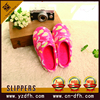 high quality new soft indoor textile lady bedroom slipper
