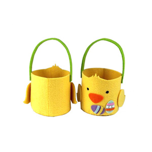 Wholesale Polyester Felt Chicken Shape Egg Baskets