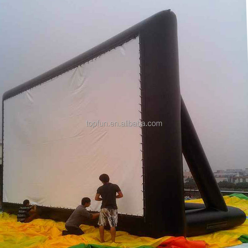 Outdoor PVC Inflatable Movie Screen Air Screen Type